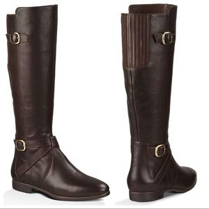 UGG Beryl Tall Leather Riding Boot